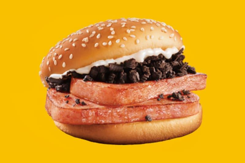 中國 McDonald's 推出期間限定「OREO x SPAM 午餐肉」漢堡