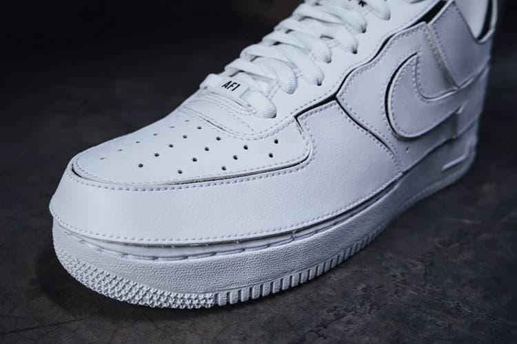 Nike 發表全新 Air Force 1/1 可完全定製鞋款