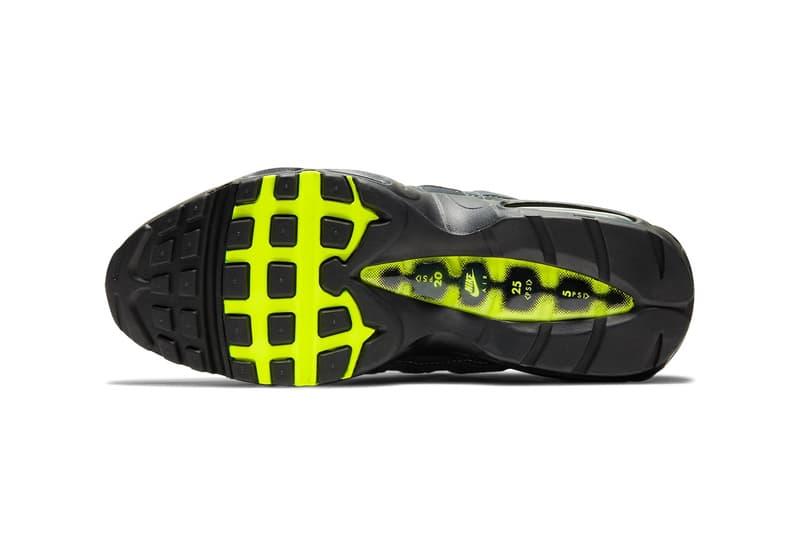 Nike Air Max 95 元祖配色「Neon」官方圖輯、發售情報正式公開