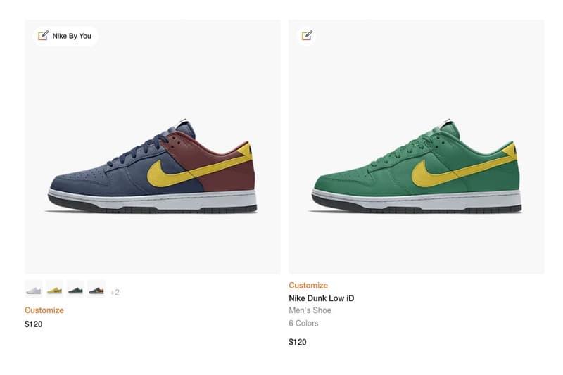 Nike Dunk 或將重新登陸 Nike 客製化球鞋平台「Nike By You」