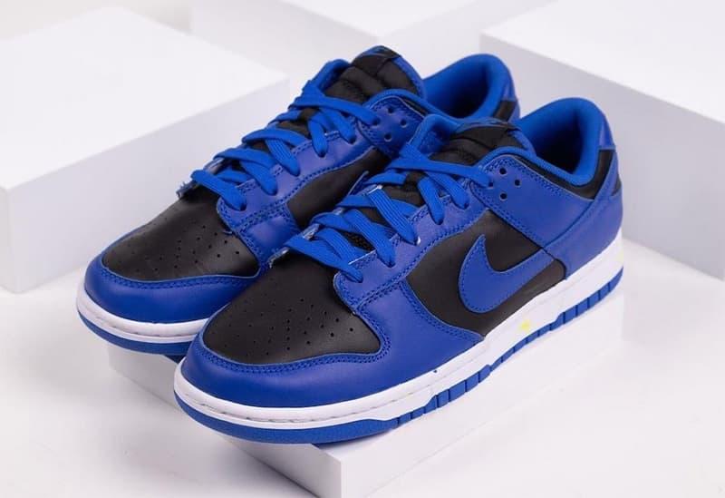 率先近賞 Nike Dunk Low 全新藍黑配色「Hyper Cobalt」