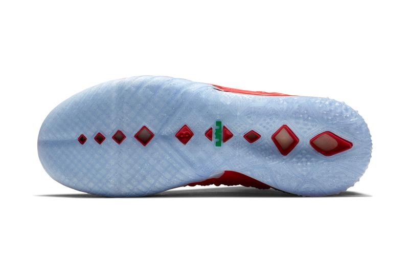 Nike LeBron 18 全新聖誕節配色「X-Mas in LA」正式發佈