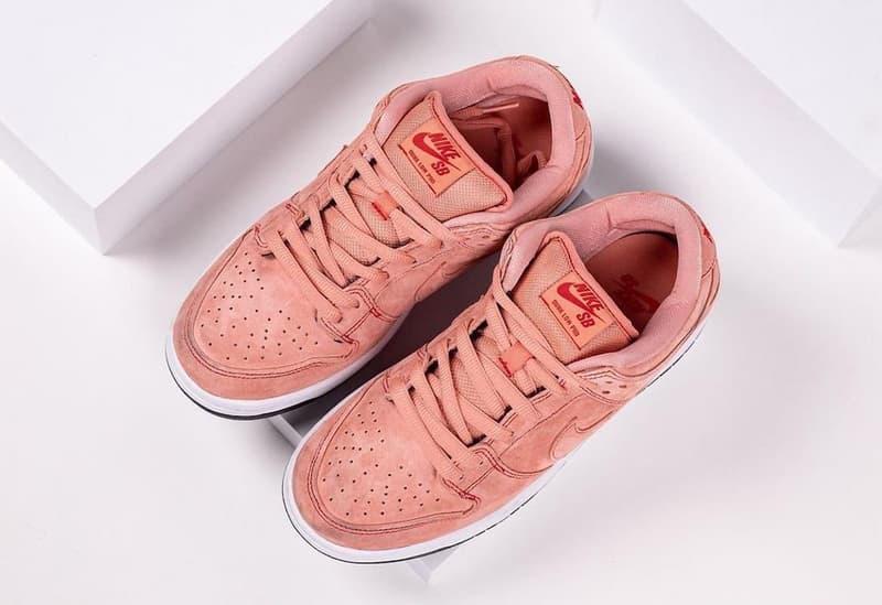 率先近賞 Nike SB Dunk Low 全新粉紅配色「Pink Pig」