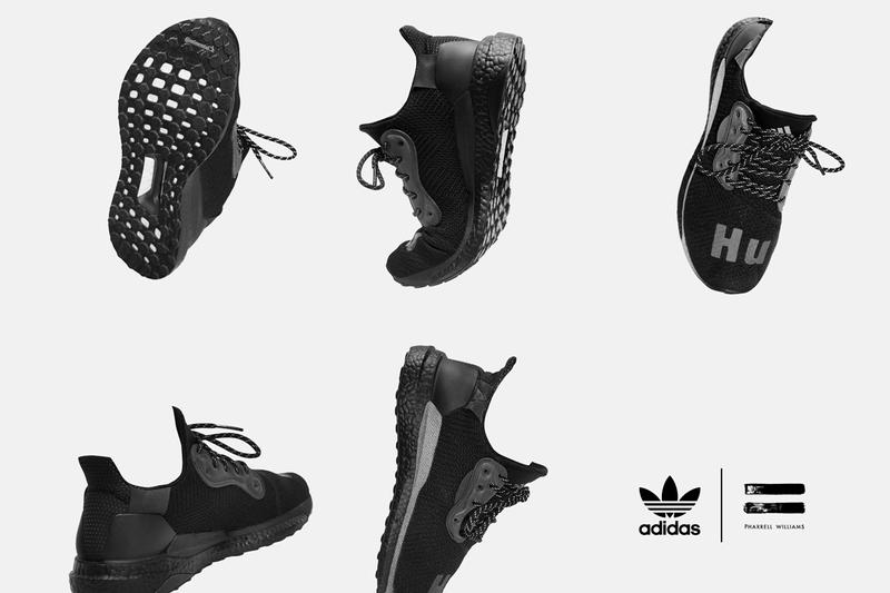Pharrell Williams x adidas Originals 最新聯名「Triple Black」黑魂系列正式登場