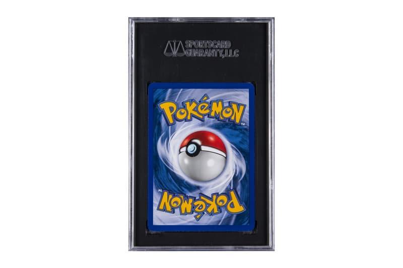 1999 年初版 Pokémon 卡牌或將打破拍賣紀錄