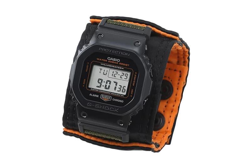 PORTER 攜手 G-Shock 打造 85 週年別注 GM-5600 聯乘腕錶