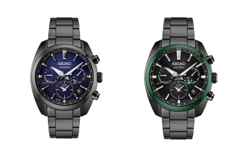 Seiko 發表全新星空錶面設計 Astron 系列錶款
