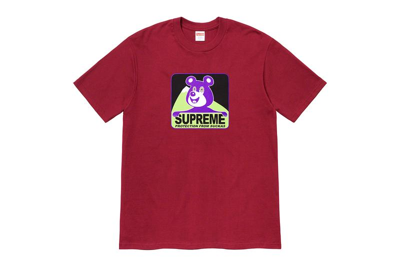 Supreme 2020 冬季 T-shirt 系列正式發佈