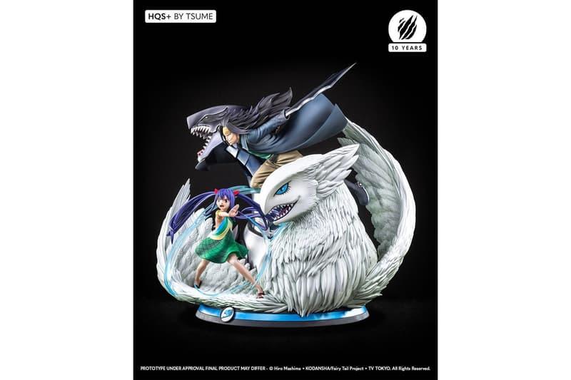 Tsume-Art 推出《FAIRY TAIL 魔導少年》全新 Gajeel、Wendy 雕像