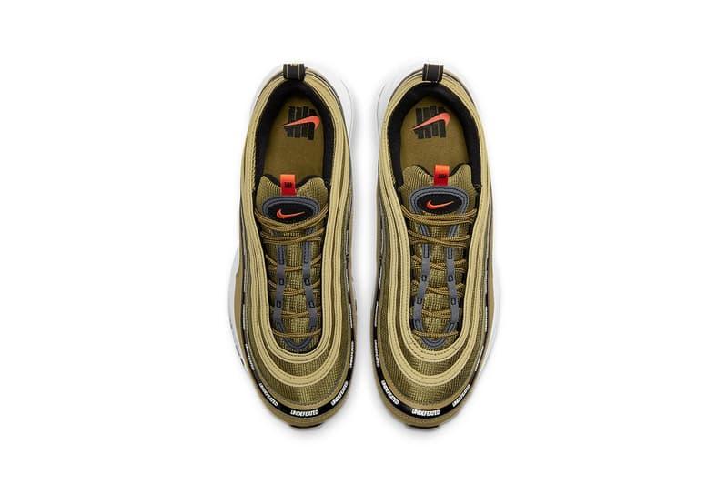 UNDEFEATED x Nike Air Max 97 最新聯名鞋款官方圖輯率先曝光