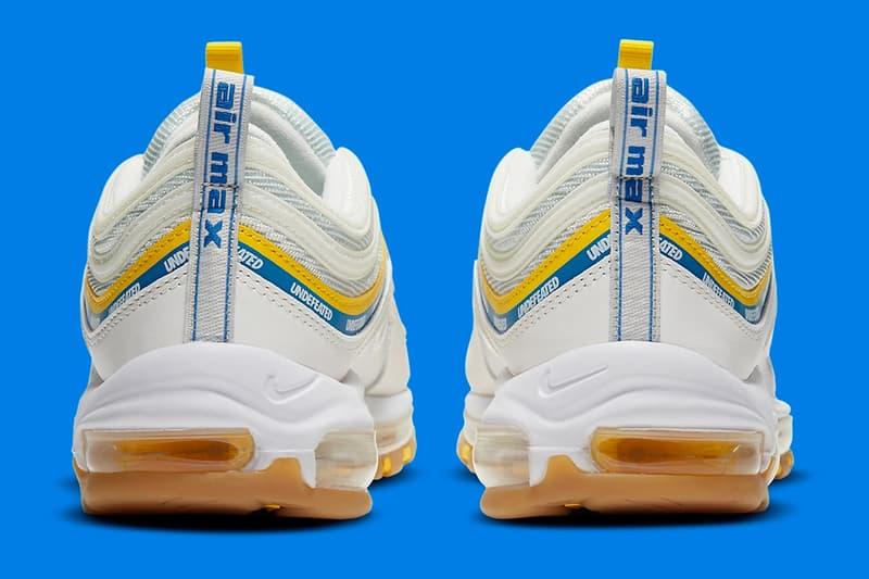率先預覽 UNDEFEATED x Nike Air Max 97 全新聯乘藍黃配色