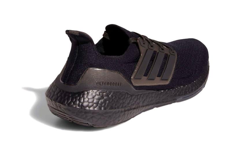 adidas 正式發表 UltraBOOST 2021 全新配色「Triple Black」