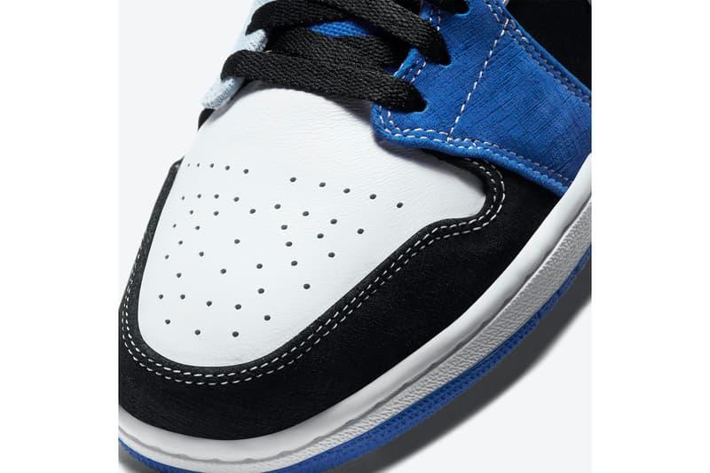率先近賞 Air Jordan 1 Low 全新藍黑配色