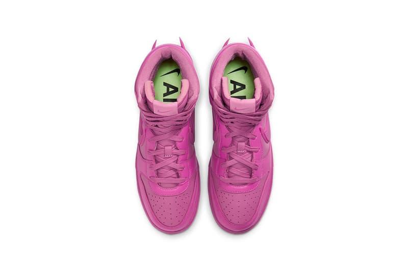 AMBUSH x Nike Dunk High 最新聯名配色「Cosmic Fuchsia」官方發售情報公開