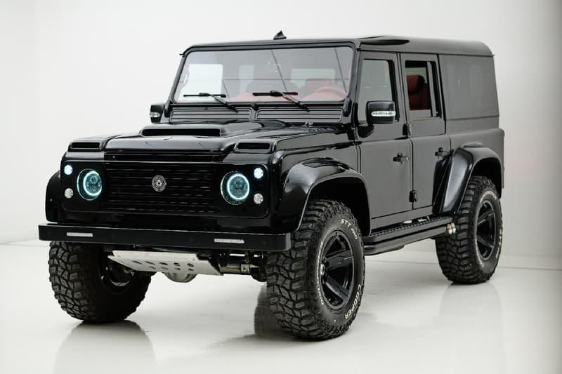 ARES Design 打造 Land Rover Defender 改裝車款