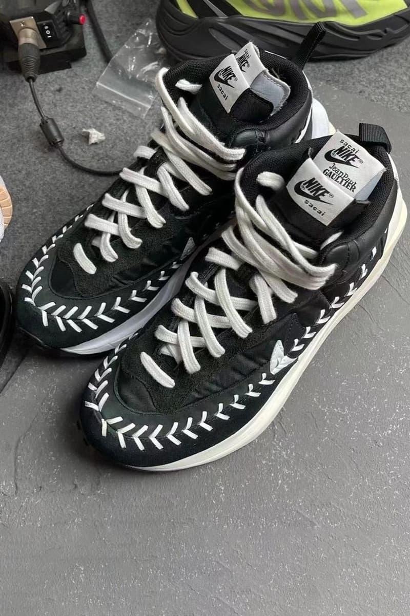 阿部千登勢攜手 Jean-Paul Gaultier 打造 sacai x Nike Vaporwaffle 定製鞋款