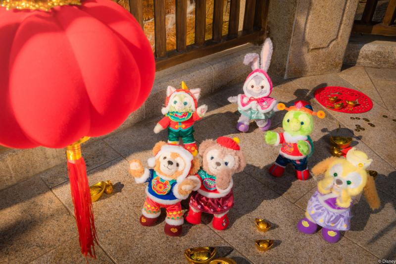 上海迪士尼度假区以传统年俗邀游客共庆新春佳节