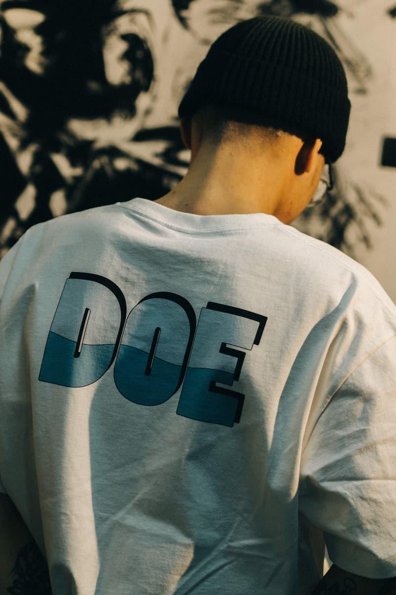 DOE 正式发布 2021 春夏系列 Lookbook