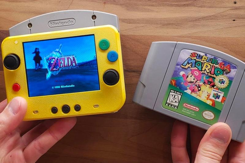 GmanModz 打造世界上最小掌上型 Nintendo 64 遊戲機