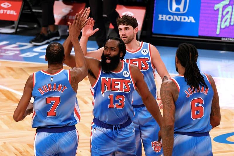 James Harden 籃網首秀即繳大三元 連線 Kevin Durant 合砍 74 分率隊贏球