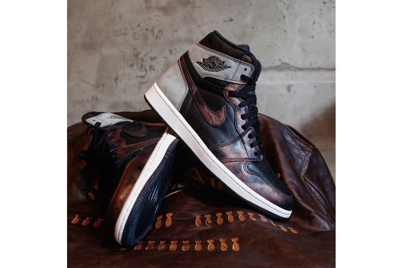 Air Jordan 1 Retro High OG 全新配色「Rust Shadow」曝光