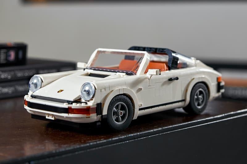 LEGO 推出全新 Porsche 911 Turbo、Targa 二合一積木模型