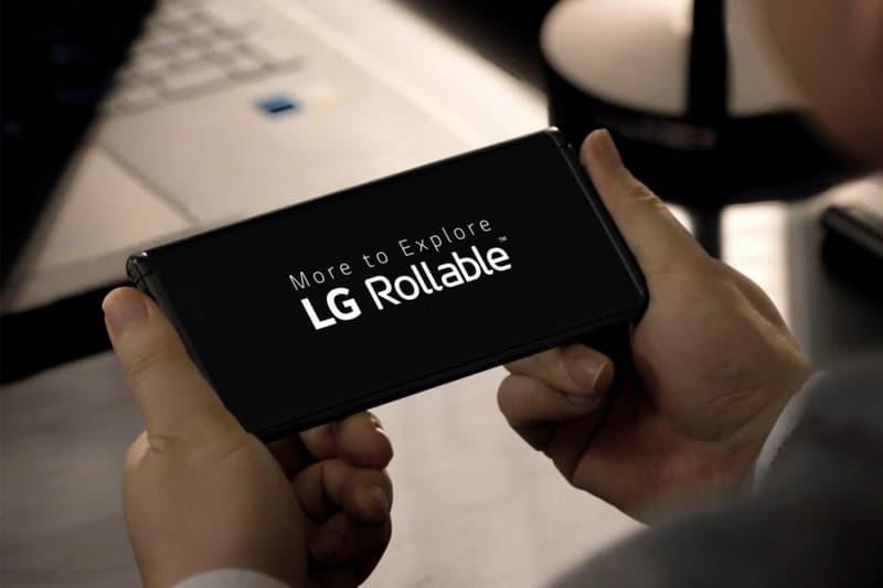 CES 2021 − LG 揭示全新捲軸式智慧型手機