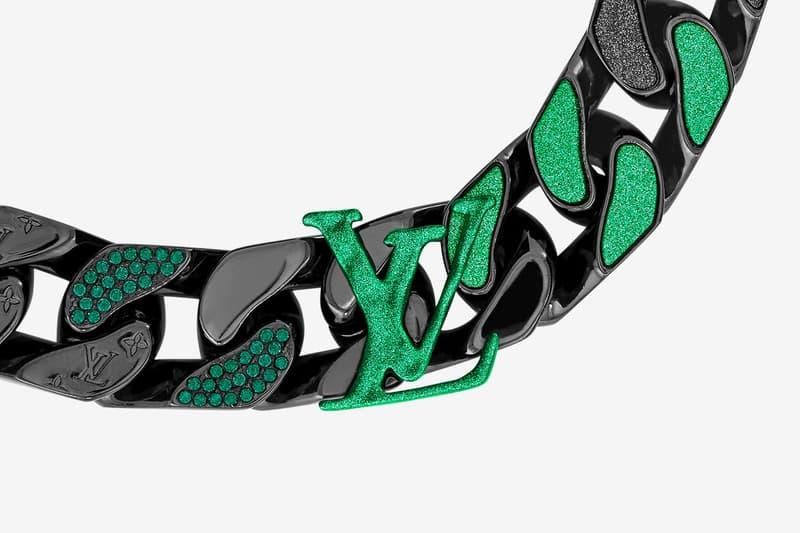 Louis Vuitton2054 金屬鏈扣手鍊正式登場