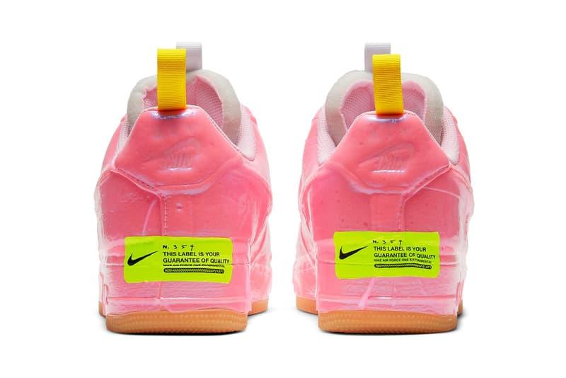 Nike Air Force 1「Racer Pink」配色版本正式登場