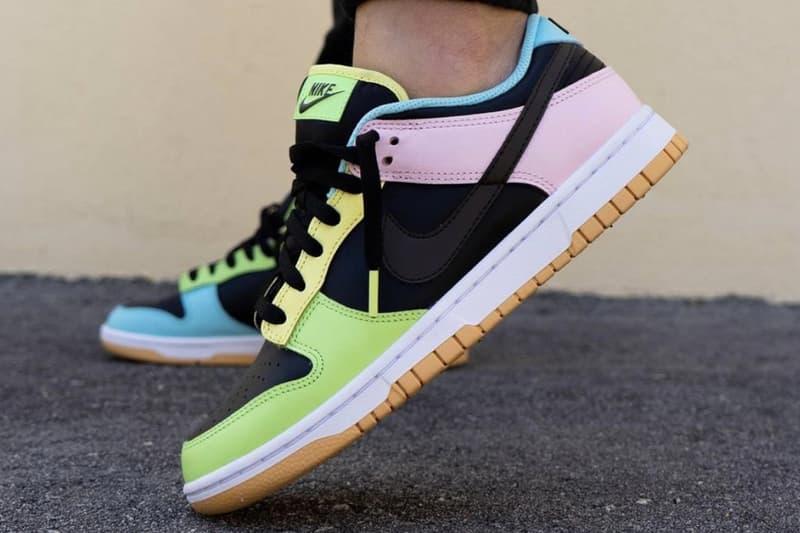 率先預覽 Nike Dunk Low 全新「Free 99」系列配色