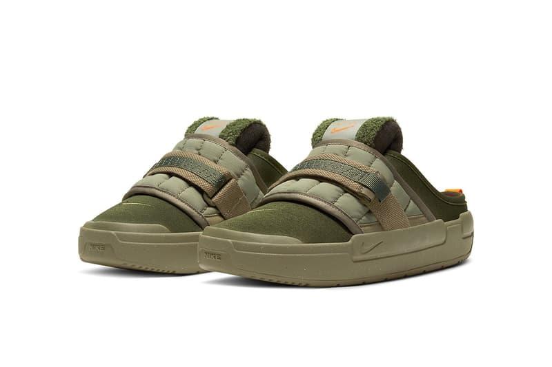 Nike 頂級涼拖鞋系列 Nike Offline 全新「Army Olive」配色登場