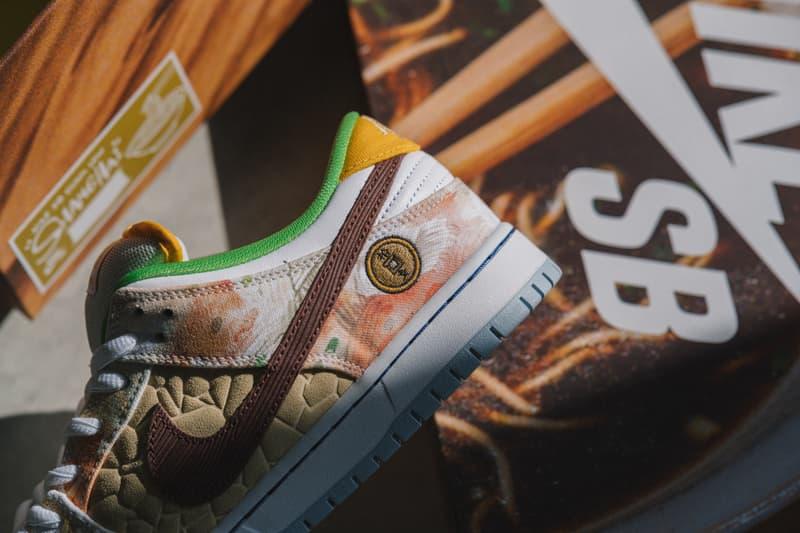 近赏 Nike SB Dunk Low 全新鸳鸯配色「Street Hawker」