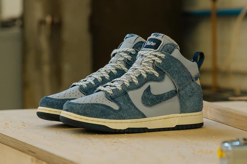Notre x Nike Dunk High 全新聯乘系列鞋款正式發佈