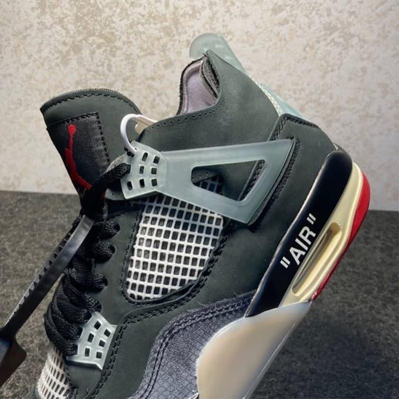 Off-White™ x Air Jordan 4 經典配色「Bred」最新圖輯率先曝光