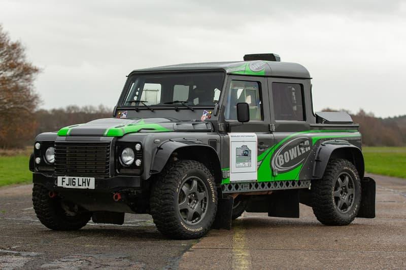 多款由 Bowler 出品的珍贵 Land Rover 定制越野车即将展开拍卖