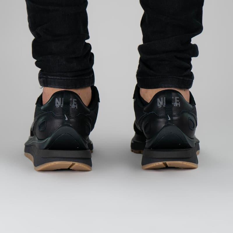 率先近賞 sacai x Nike Vaporwaffle 全新黑魂配色「Black/Gum」