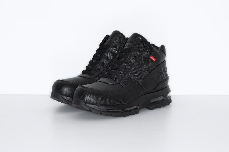 Supreme x Nike Air Max Goadome 全新聯乘鞋款正式發佈