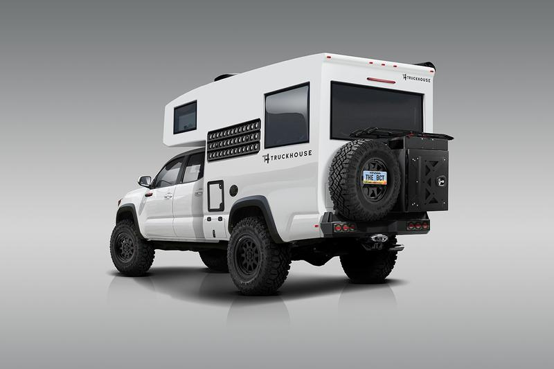 TruckHouse 打造 Toyota Tacoma TRD Pro 全新野營改裝車型