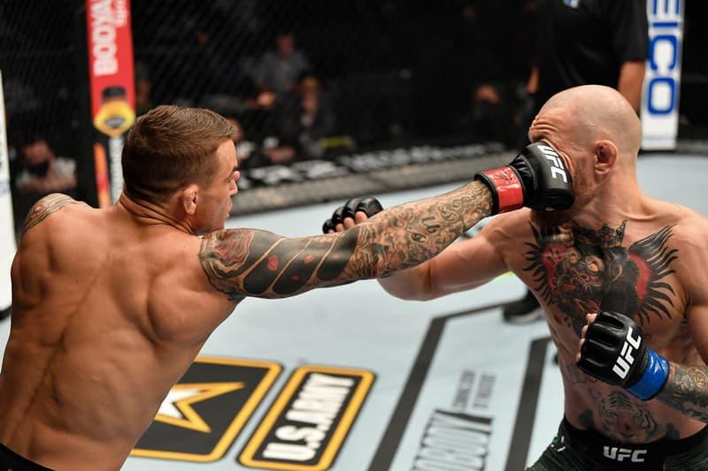 UFC 257-Conor McGregor 遭 Dustin Poirier 兩回合 KO 擊倒