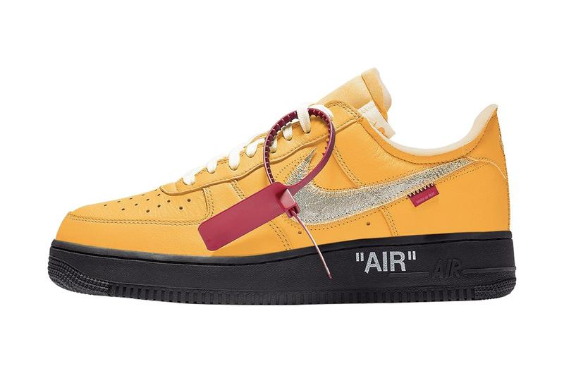 Off-White™ x Nike Air Force 1 全新聯名配色「University Gold」發售情報曝光