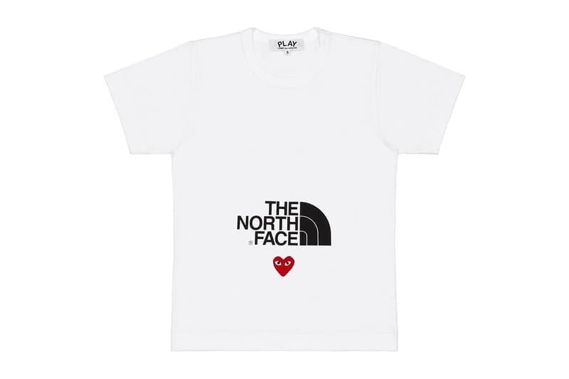 COMME des GARÇONS PLAY 攜手 Nike 和 The North Face 打造最新聯名系列