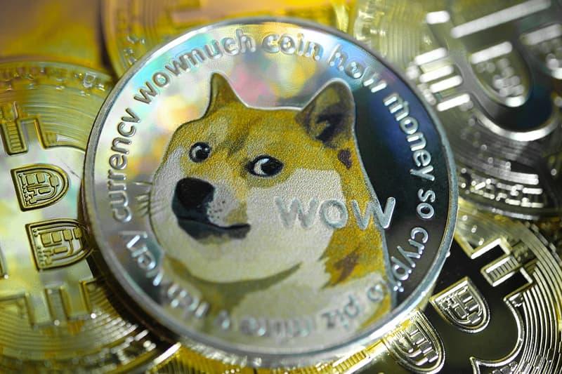 虛擬加密貨幣 Dogecoin 市價再破新高