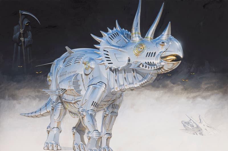 空山基 Hajime Sorayama 最新個展《Dinosauria》正式開催