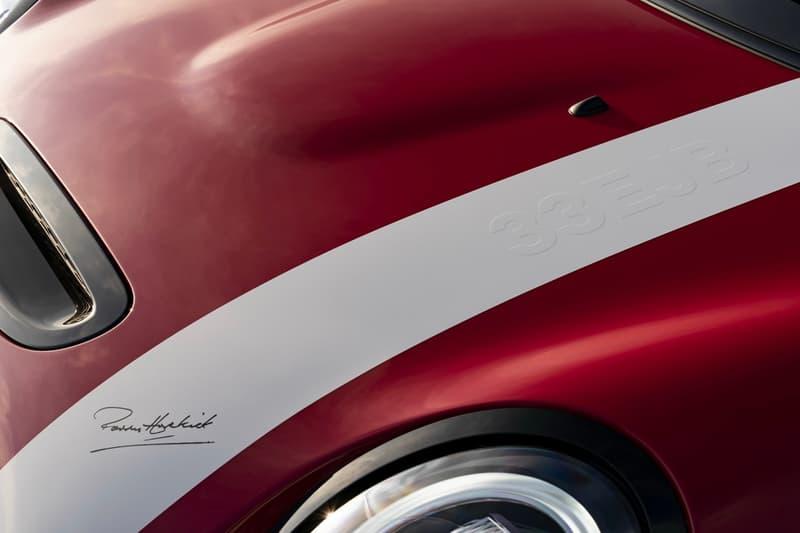 MINI 正式發表極限量 65 輛 Patrick Hopkirk 別注車款