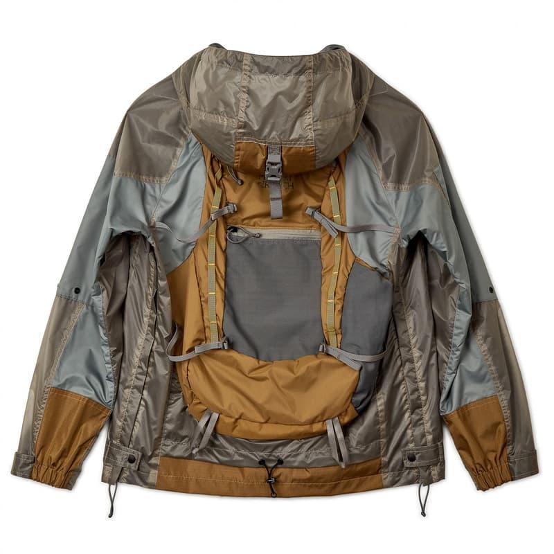 Junya Watanabe Man 推出「結合後背包設計」之機能夾克