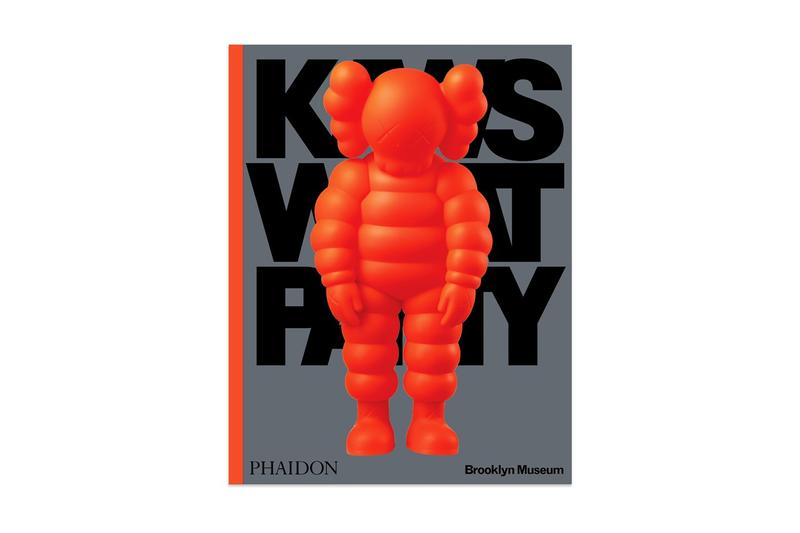 藝術出版商 Phaidon Press 推出 KAWS「WHAT PARTY」精裝書籍