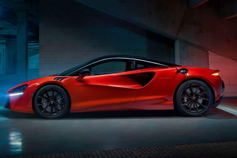 McLaren 首款油電混合超跑車型 Artura 正式發佈