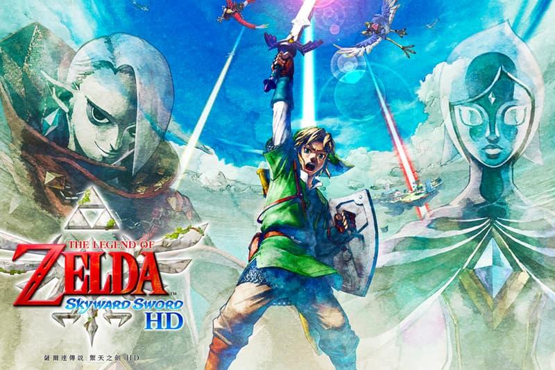 Nintendo Switch 即將推出全新重製版《薩爾達傳說 天空之劍 HD》
