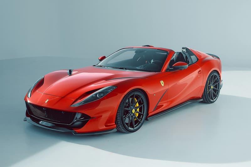 NOVITEC 打造 Ferrari 812 GTS 全新性能強化改裝車型
