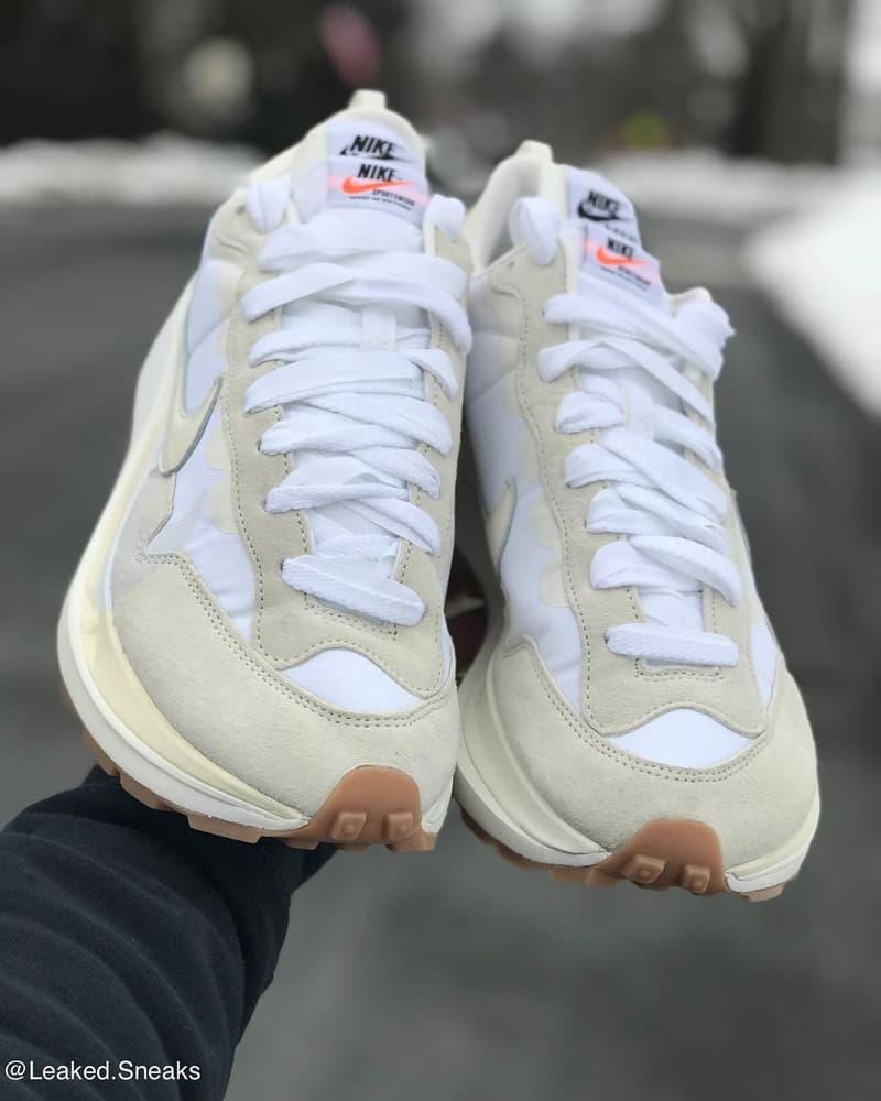 sacai x Nike Vaporwaffle 最新聯名配色「Sail」率先曝光